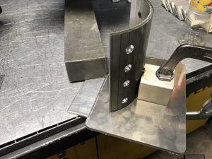 Stainless steel welded fabrications