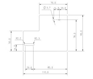 Stainless steel Guide plate