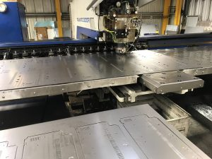 Chassis in production
