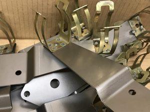 Spot welded bracket