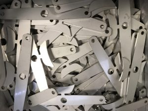 Laser cut brackets