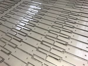 CNC punching stainless steel sheet