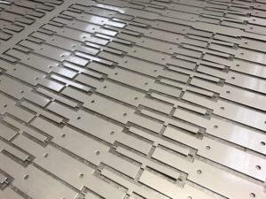 CNC punching stainless steel sheet