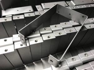Mild steel sheet metal brackets