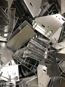 Aluminium sheet metal brackets