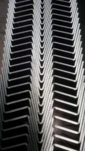 CNC folding sheet metal work