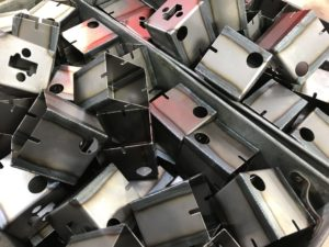 Welded mild steel boxes