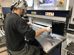 Folding sheet metal work Romsey