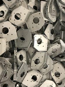 zintec folded brackets