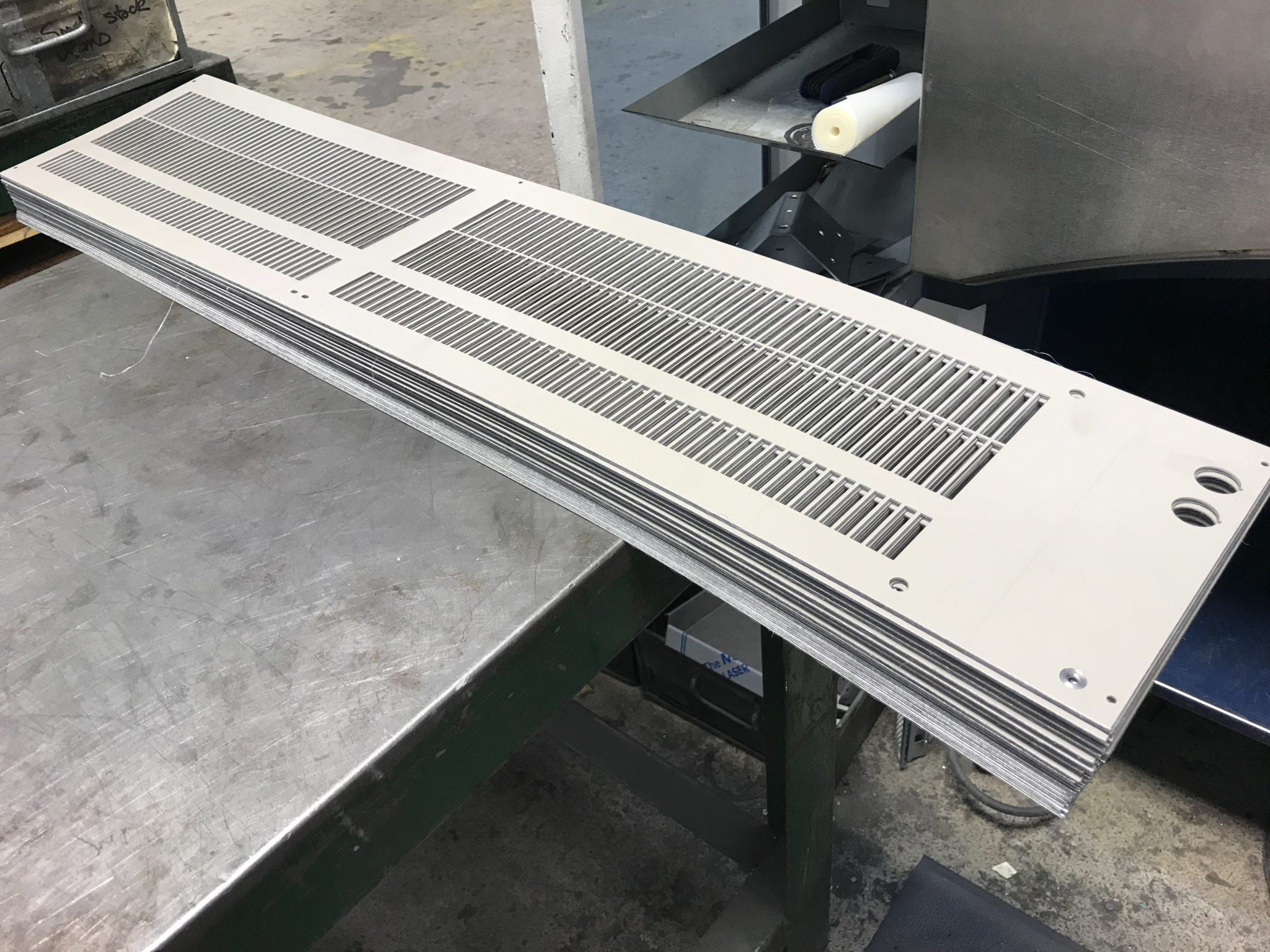 Pre Painted Sheet Metal Heater Unit Covers Manufactured In