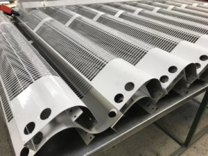 Formed heater unit covers