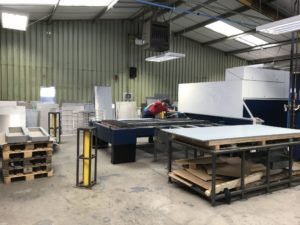 Laser cutting sheet metal work in Great Britain 2019
