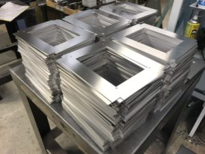 Aluminium sheet metal workers in the UK