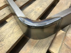 Welding sheet metal light fittings in Great Britain