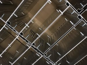 Folded sheet metal chassis panels