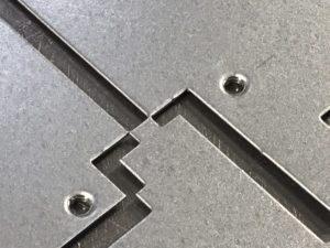 cnc punching galvanised mild steel sheet metal panels