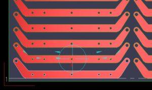 Laser cutting path simulation
