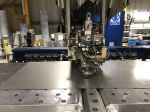 CNC punching sheet metal enclosures