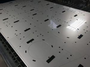 Stainless steel sheet metal housings