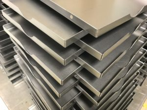 Sheet metal manufacturers producing mild steel trays