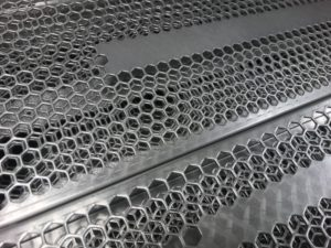 Sheet metal manufacturing of ventilation grilles