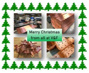 Sheet metal work at  Christmas 2019