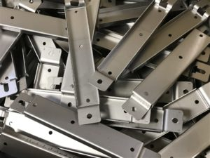 Mild steel support brackets