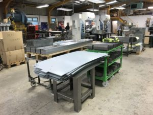 There's life at V&F, COVID-19 and sheet metal work
