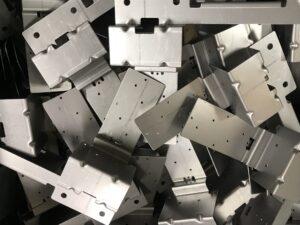 Sheet metal production of mild steel brackets