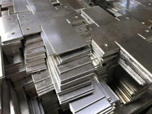 CNC punching sheet metal products