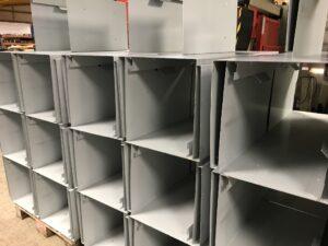 sheet metal housing assemblies