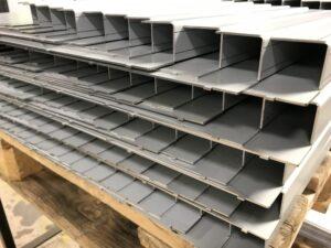 Sheet metal folded housings