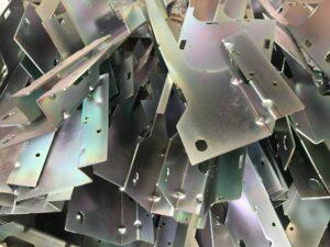 Precision sheet metal brackets