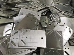 Aluminium plates made to measure