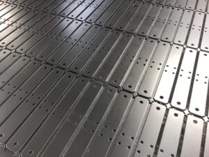CNC punched Mild Steel Brackets