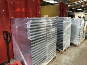 Sheet metal manufactured enclosures